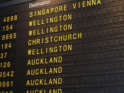 Auckland Airport Flights Arrival and Departure